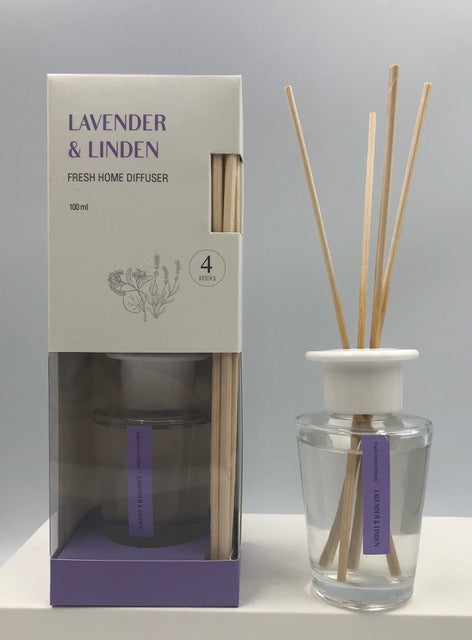 Difusor Ambiental  Fresh 100ml Lavender & Linden