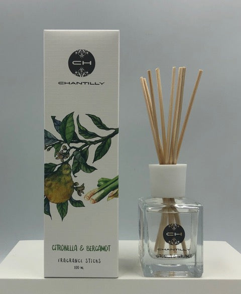 Difusor Ambiental Energy 100ml Citronella & Bergamotx