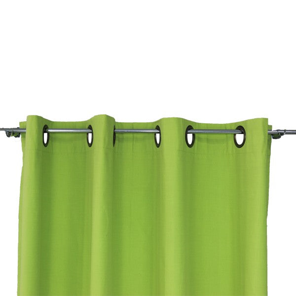 Cortina Blackout Con Argollas 140X220 Cm - Verde
