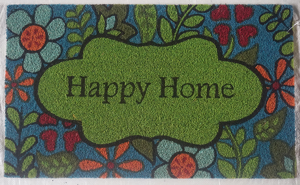 Limpiapies Happy Home Fibra De Coco 45x75cm