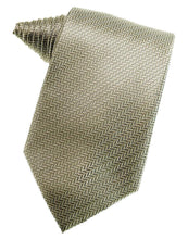 Load image into Gallery viewer, Champagne Herringbone Necktie