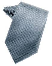 Load image into Gallery viewer, Desert Blue Herringbone Necktie