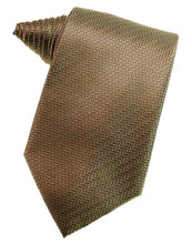 Load image into Gallery viewer, Mocha Herringbone Necktie