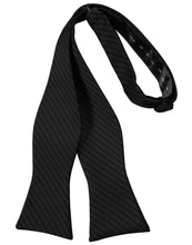 Load image into Gallery viewer, Black Palermo Bow Tie