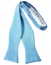 Load image into Gallery viewer, Blue Ice Palermo Bow Tie