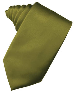 Moss Luxury Satin Necktie