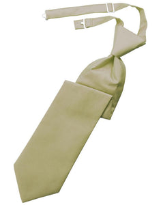 Champagne Solid Twill Windsor Tie