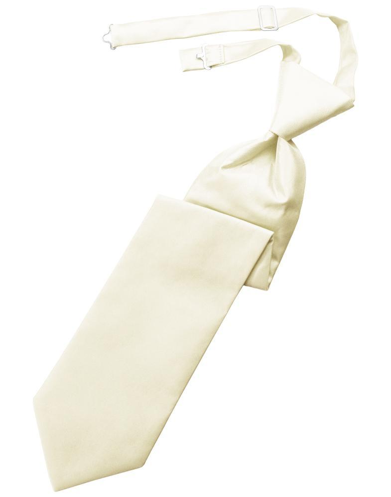 Ivory Solid Twill Windsor Tie