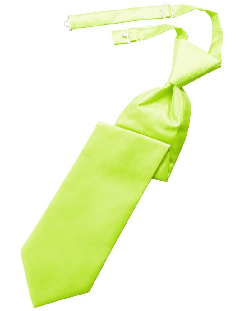 Lime Solid Twill Windsor Tie