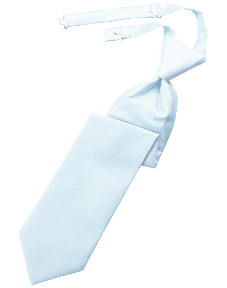 Powder Blue Solid Twill Windsor Tie