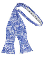 Load image into Gallery viewer, Cornflower Tapestry Bow Tie