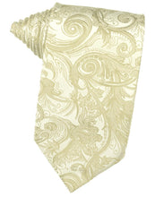 Load image into Gallery viewer, Ivory Tapestry Necktie