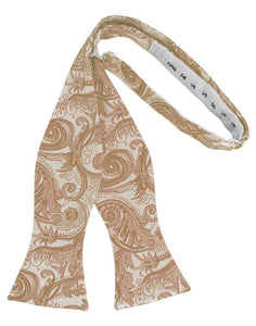 Latte Tapestry Bow Tie