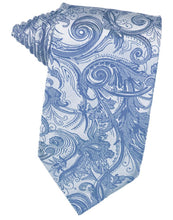 Load image into Gallery viewer, Periwinkle Tapestry Necktie