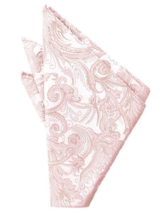 Pink Tapestry Pocket Square