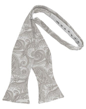 Load image into Gallery viewer, Platinum Tapestry Bow Tie
