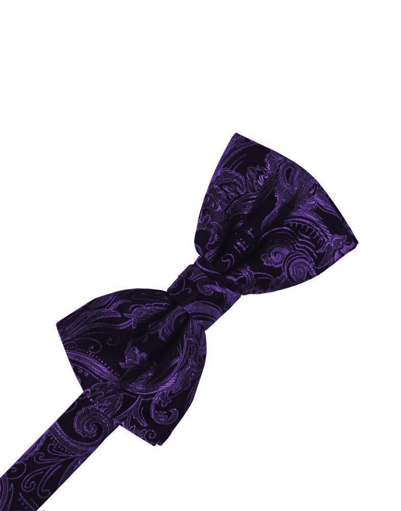 Purple Tapestry Bow Tie