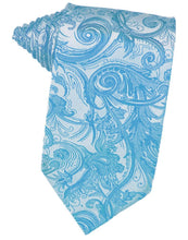 Load image into Gallery viewer, Turquoise Tapestry Necktie