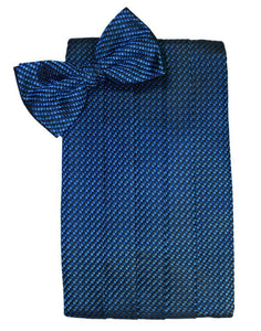 Royal Blue Venetian Cummerbund