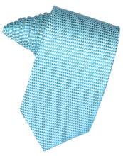Load image into Gallery viewer, Turquoise Venetian Necktie
