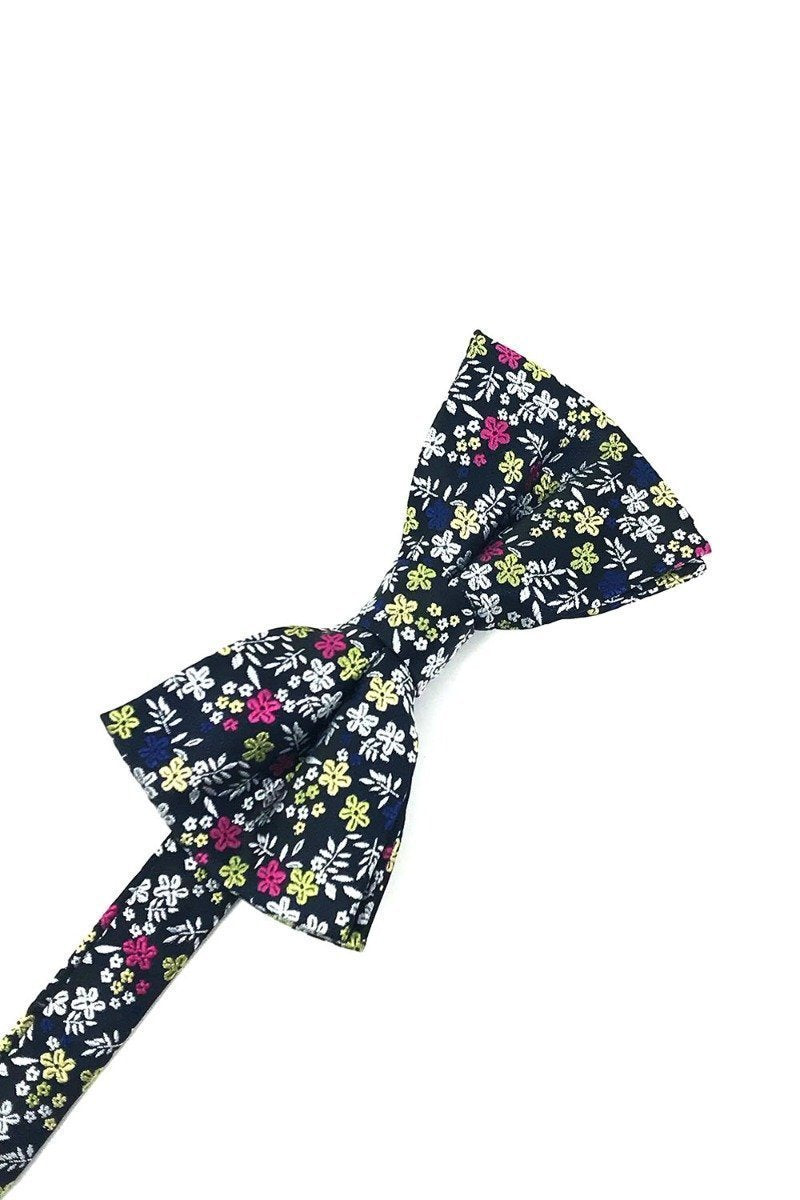 Navy Enchantment Bow Tie