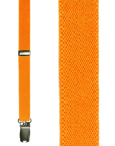 """Fluorescent Orange Charleston"" Suspenders"