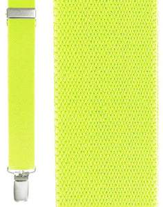 """Fluorescent Yellow Newport"" Suspenders"
