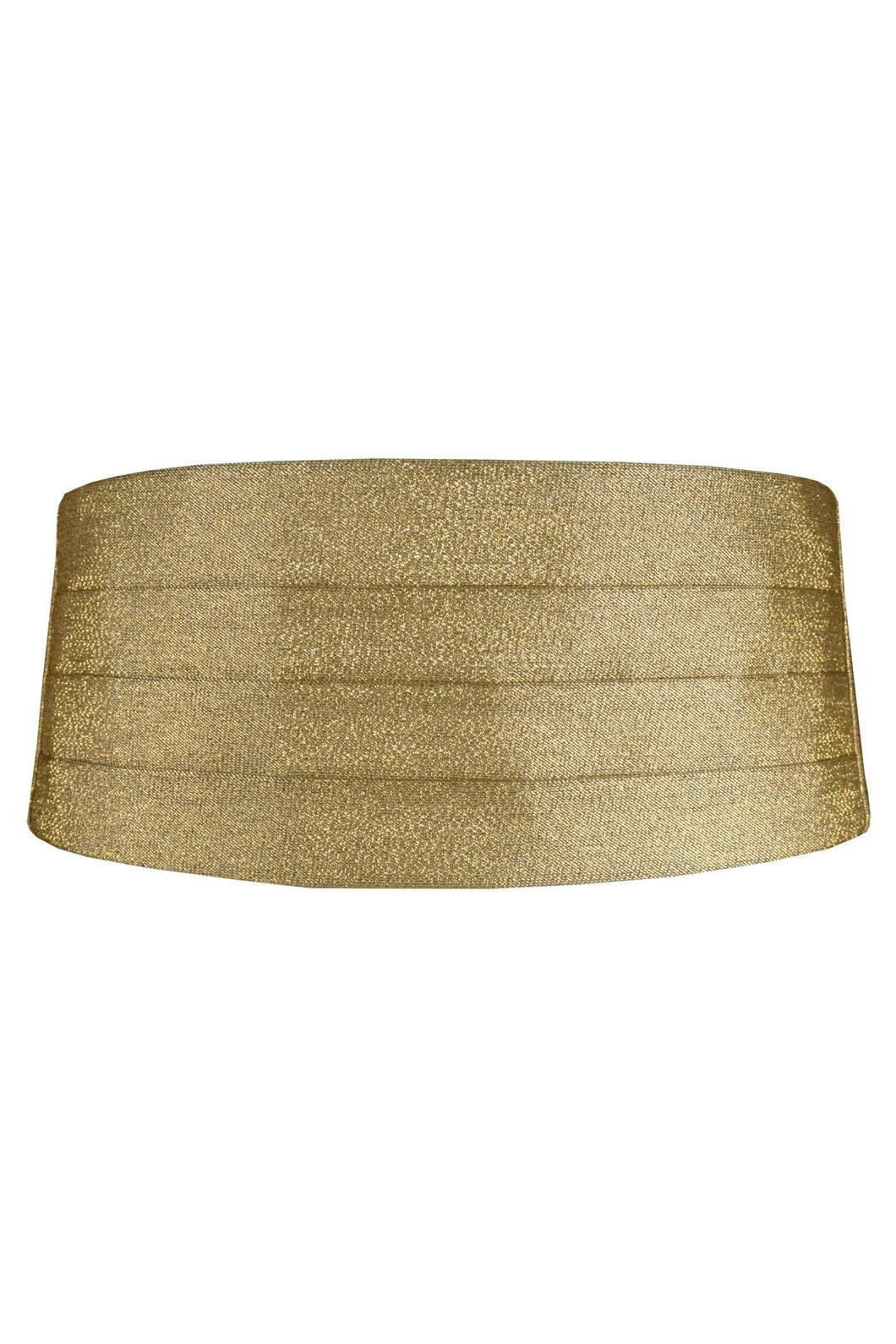 Gold Metallic Cummerbund