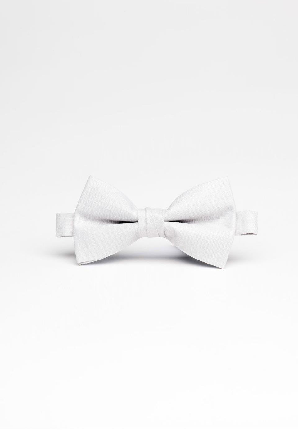 Light Grey Bow Tie