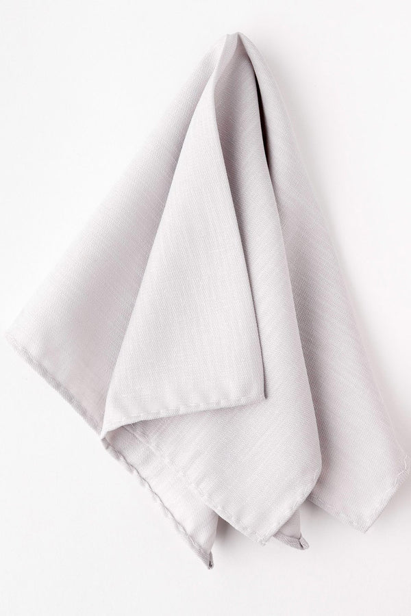Light Grey Pocket Square