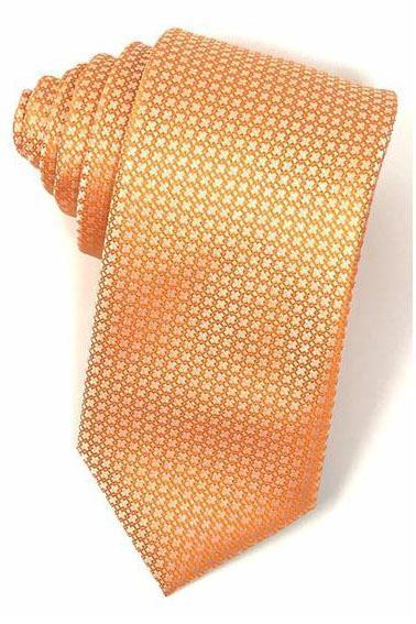 Orange Regal Necktie