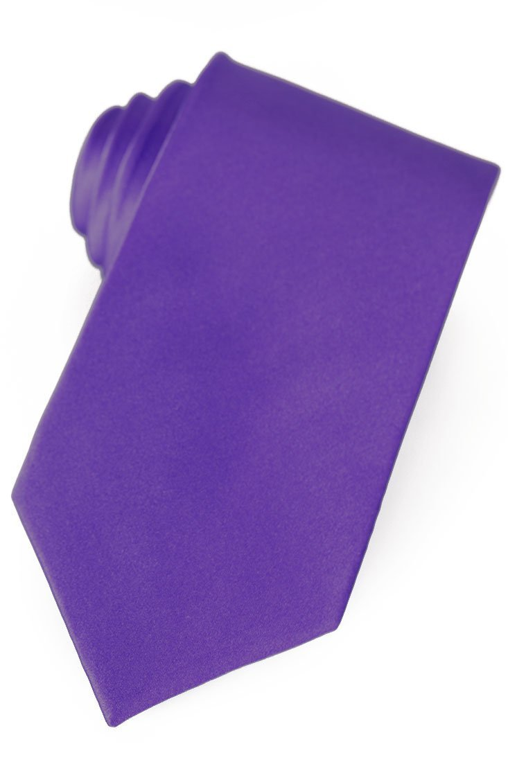 Purple Silk Necktie