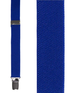 """Royal Blue Oxford"" Suspenders"