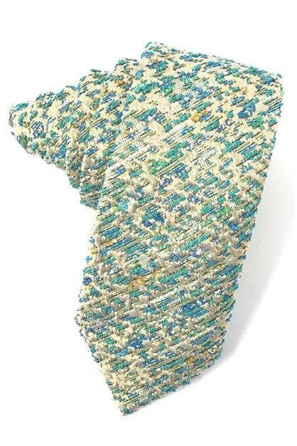 Teal Laurent Necktie