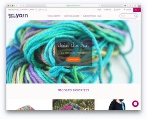 Yarn, Crafts, and Artisan Goods: Darn Good Yarn