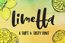 Load image into Gallery viewer, Limetta: a fun handwritten font!