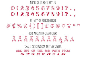Big Sweetie: a handwritten font full of heart!