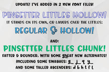 Load image into Gallery viewer, Pinsetter: a fun family of fonts!