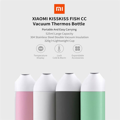 Image of Multi- Function Smart Water Bottle 525ml - Instant Temperature Display Water Bottle