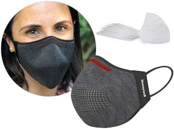 Great protection, comfortable to wear and reusable