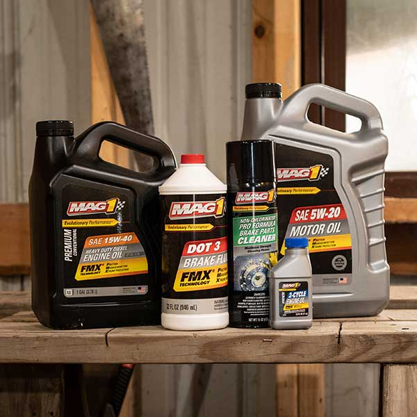 MAG 1 motor oils and lubricants