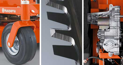 Heavy duty components for years of dependable use