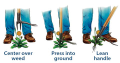 Grampas Weeder How to Use