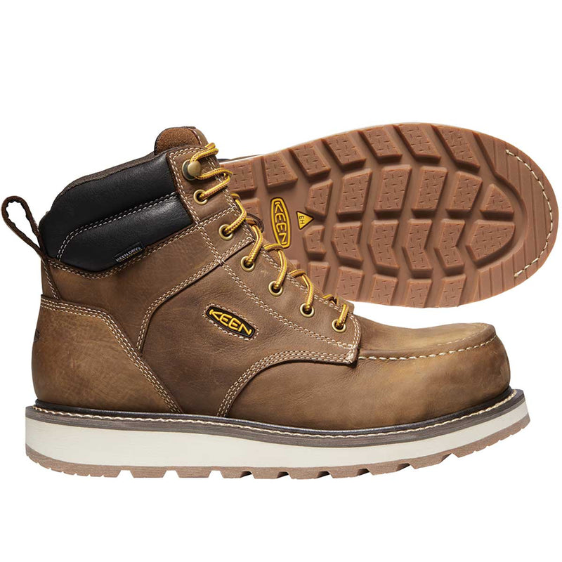 "Keen Cincinnati 6"" Boot Composite Toe Work Boots"
