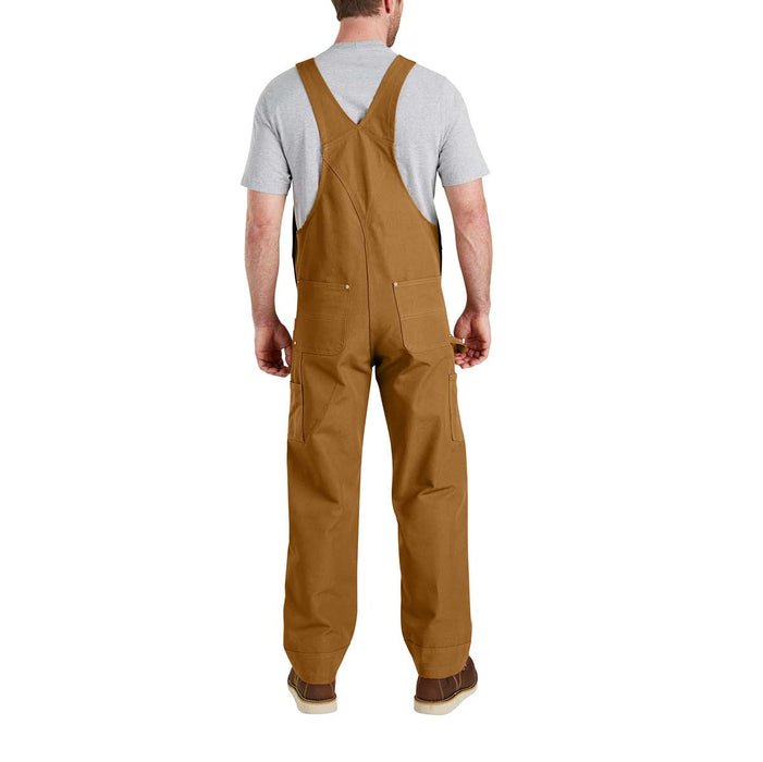 5d8dcfbe9db Carhartt Men's Duck Bib Overalls - Brown — Gempler's