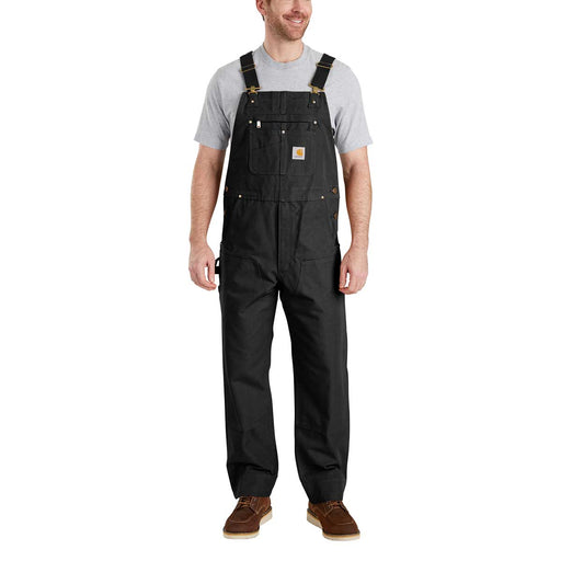 Carhartt Men's Duck Bib Overalls - Black