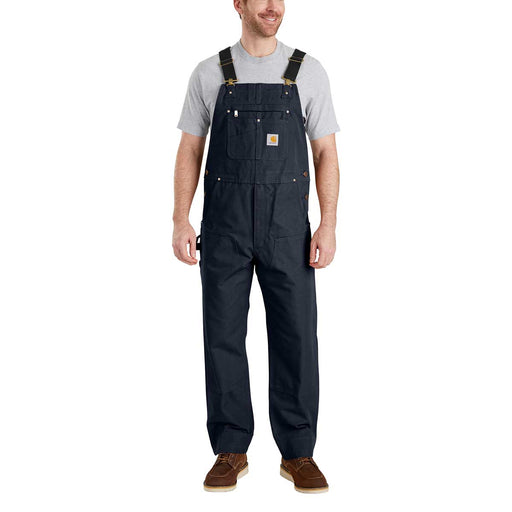 Carhartt Men's Duck Bib Overalls - Navy