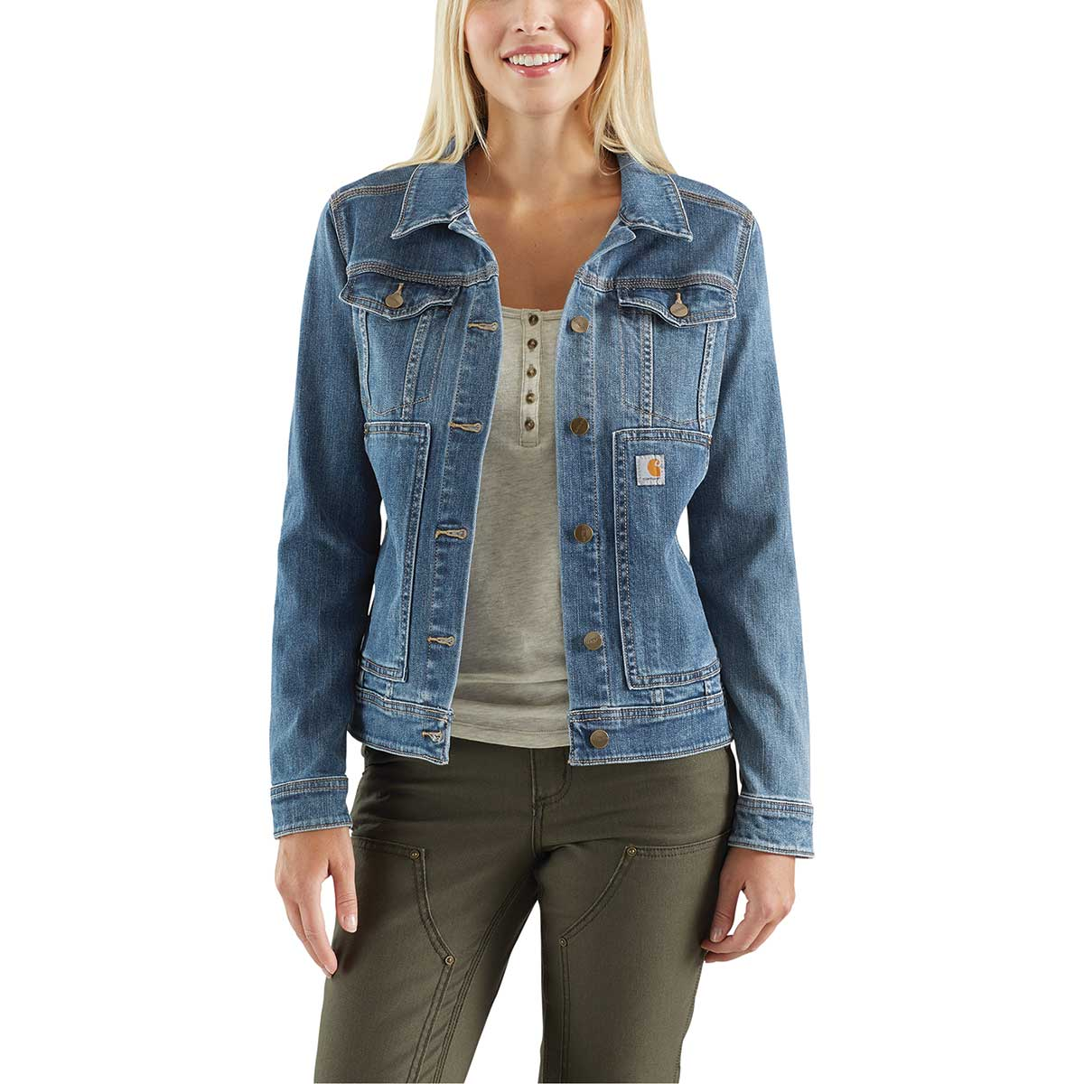 Carhartt Women's Rugged Flex Benson Denim Jacket