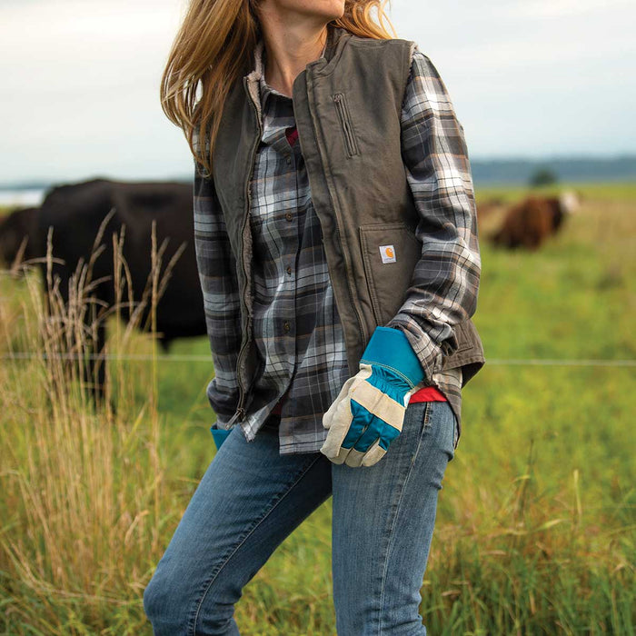 Carhartt Women's Rugged Flex® Hamilton Flannel Shirt