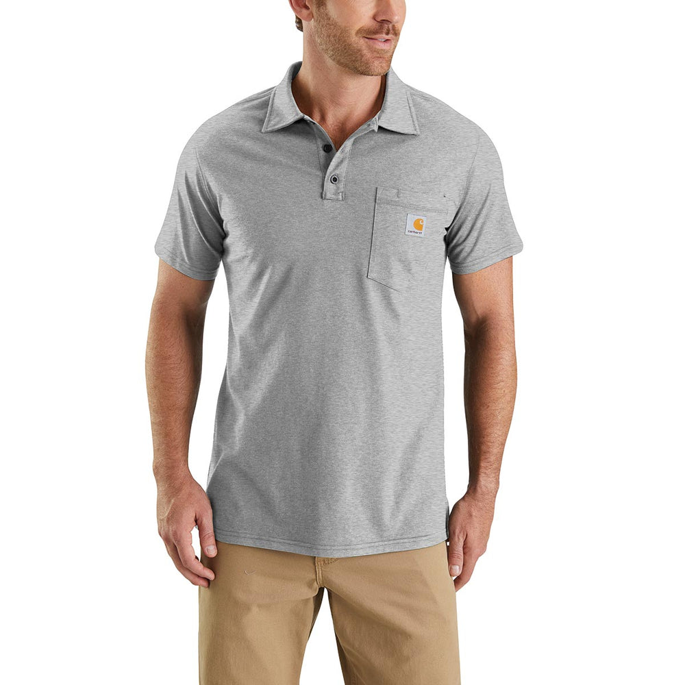 63261b12 Carhartt Force® Delmont Pocket Polo Shirt — Gempler's